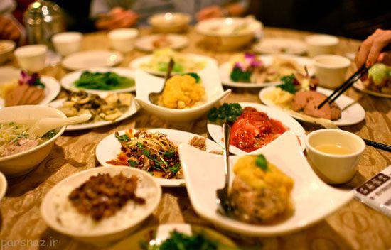 پیوند بین غذا و فرهنگ در کشورهای جهان