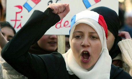 چرا در اروپا حجاب ممنوع است؟