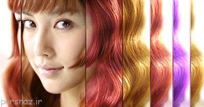 رنگ کردن مو و عوارض آن را بشناسید