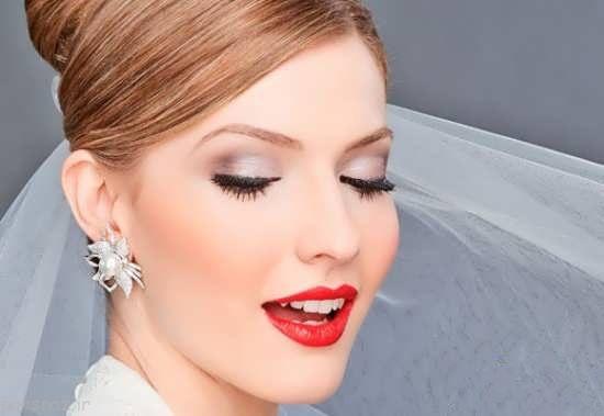 مدل های جدید و زیبای آرایش عروس 96