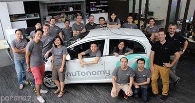 خودروی هوشمند تاکسی در سنگاپور