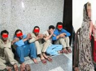 دستگیری یک زن و پنج مردی که در یک خانه بودند