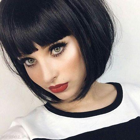 مدل آرایش مجلسی صورت زیبا و جذاب