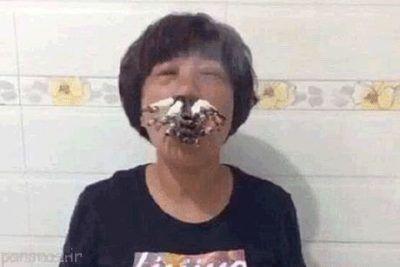 این زن چینی همه چیز را می خورد +عکس