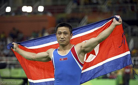 چهره غمگین ورزشکار قهرمان المپیک ریو 2016