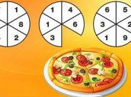 تست هوش چند تکه پیتزا خورده شده؟