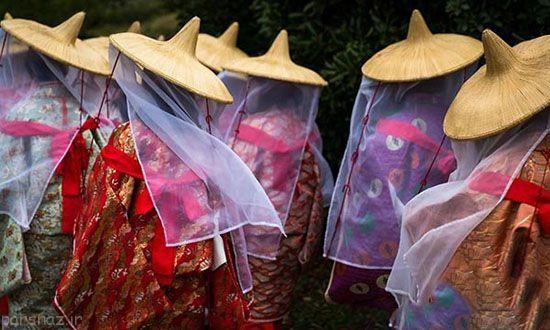 این فستیوال جالب ژاپنی را ببینید