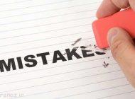 این اشتباهات روزانه را انجام ندهید