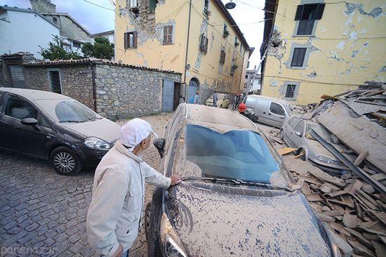 زلزله 6 ریشتری در پروجا ایتالیا +عکس