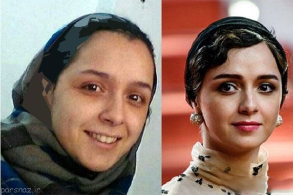 عکس بازیگران زن مشهور ایرانی قبل و بعد از آرایش