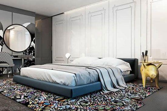 کاربرد رنگ های تیره برای دکوراسیون منزل