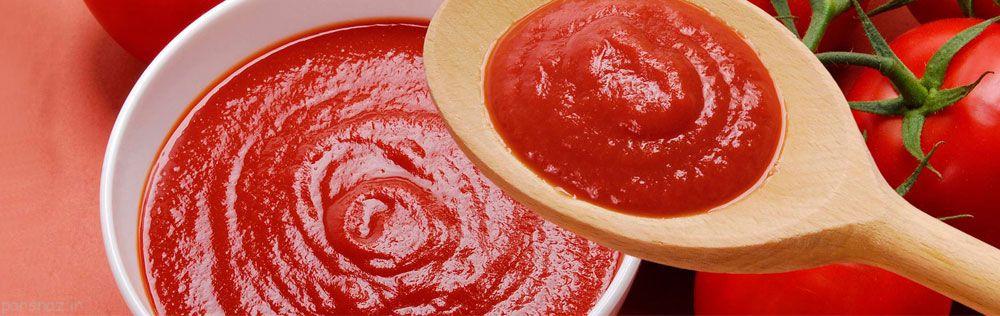 آموزش تهیه رب گوجه فرنگی خانگی