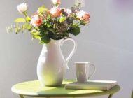 دکوراسیون خانه و نقش طلایی گلدان ها