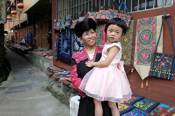 زنان این روستا بلندترین موها را دارند +عکس