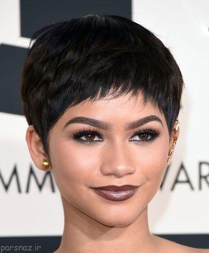 مدل موی کوتاه پیکسی به سبک ستاره های هالیوود