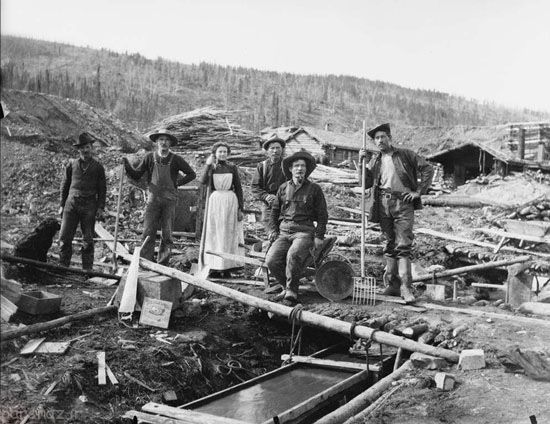 هجوم برای پیدا کردن طلا در کانادا +عکس