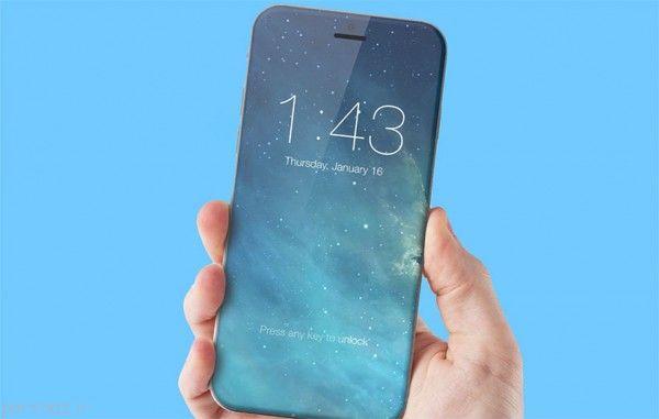 گوشی های بدون حاشیه با فناوری جدید