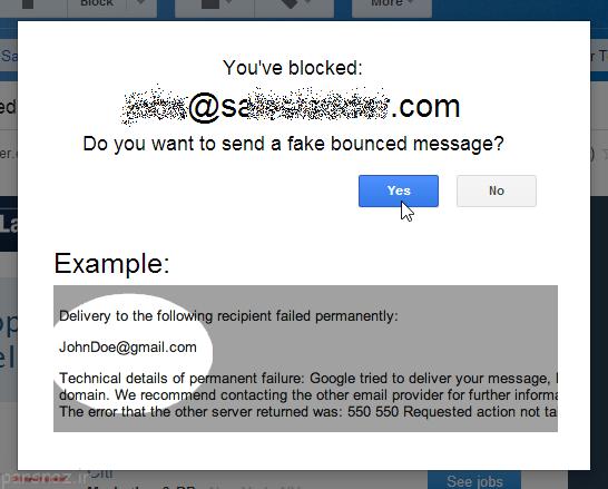 جیمیل و بلاک ایمیل های تبلیغاتی