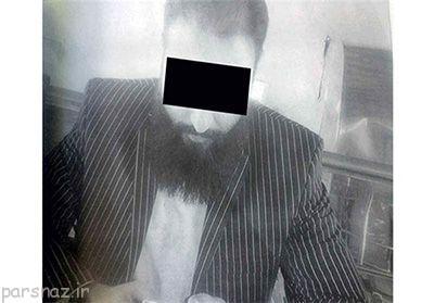 مدافع حرم قلابی اخاذی می کرد +عکس
