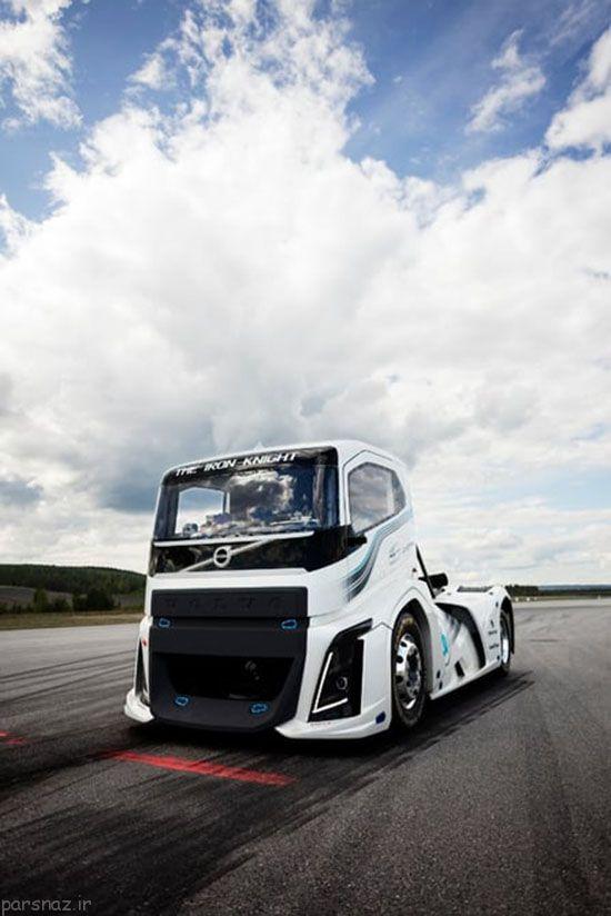 کامیون جدید و حیرت انگیز ولوو را ببینید