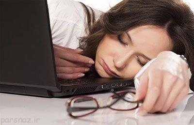 خواب آلودگی زیاد نشانه چیست؟