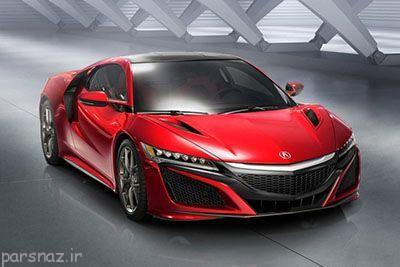 معرفی خودرو هوندا NSX