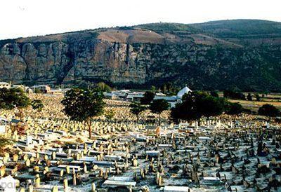 گورستان سفید چاه با قدمت 1200 ساله و اسرار آمیز