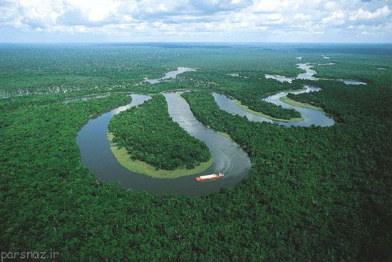 رود آمازون از کجا سرچشمه می گیرد؟
