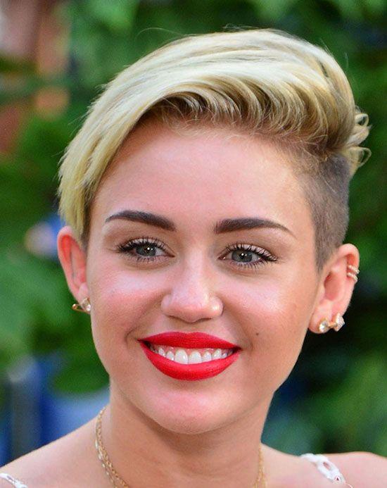 مدل مو و مدل آرایش صورت به سبک مایلی سایرس