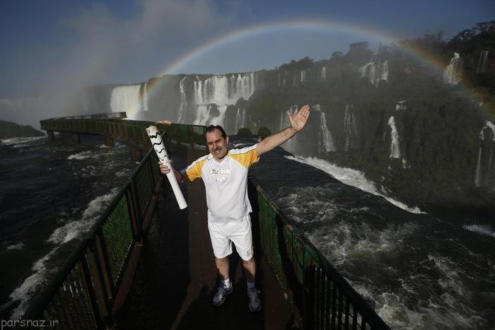 مراسم المپیک در روزهای اول به روایت تصویر