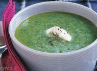 طرز تهیه سوپ اسفناج به سبک اسپانیایی