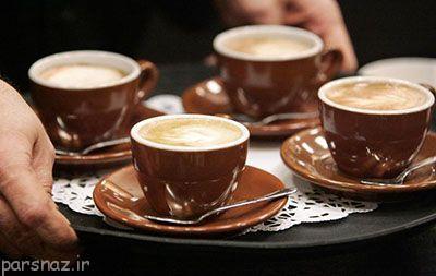 علاقه به خوردن قهوه و بررسی علت آن