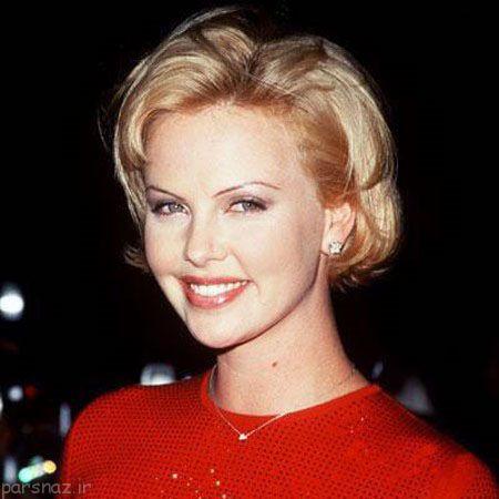 زیباترین زن هالیوودی شارلیز ترون از سالهای پیش تاکنون