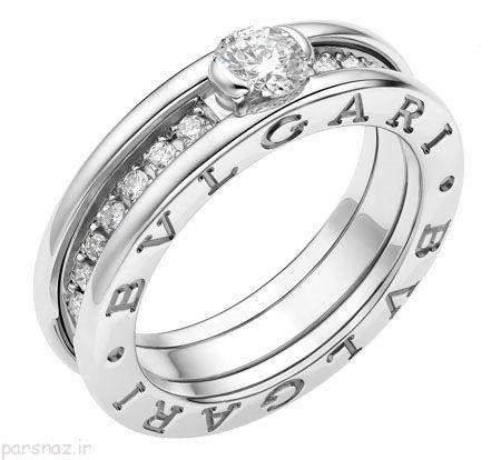 برند بولگاری و مدل حلقه های ازدواج بی نظیر آن