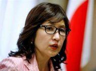وزارت دفاع ژاپن بر عهده یک زن +عکس