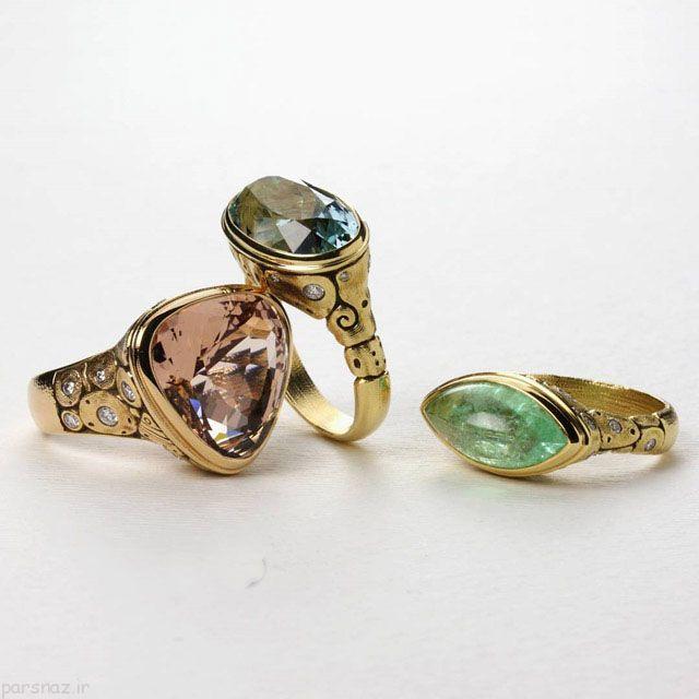 جواهرات زیبا و شیک مدل Quadrum Gallery