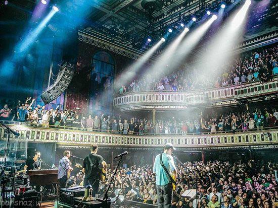 عاشقان کنسرت و موسیقی به این مکان ها بروند
