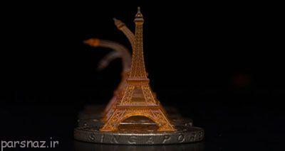 پرینتر سه بعدی جدید و تولید اشیاء منعطف