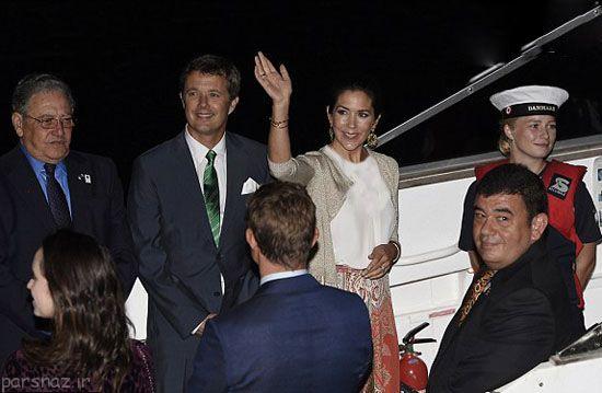 تیپ جذاب پرنسس دانمارکی در المپیک +عکس