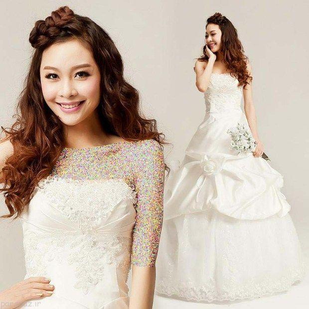 مدل های آرایش عروس کره ای جذاب و زیبا