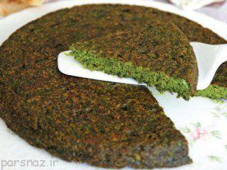 آموزش تهیه کوکو سبزی خوشمزه و عالی