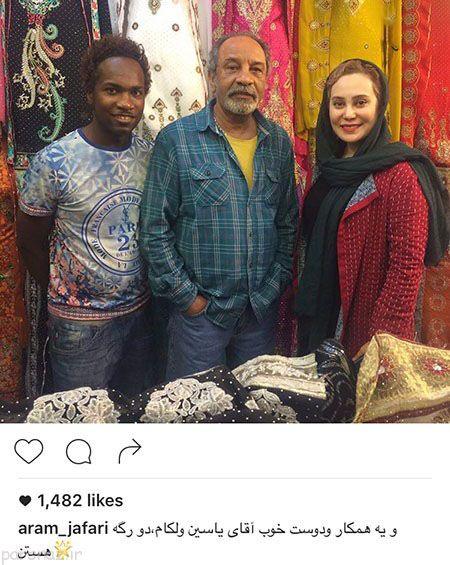 گالری عکس داغ بازیگران و چهره های شناخته شده ایرانی