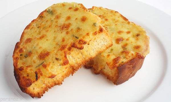 طرز تهیه نان پنیر و پیازچه خوشمزه و عالی