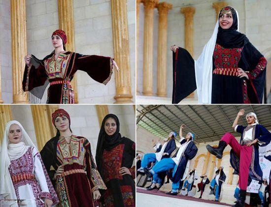 کشور فلسطین فشن شو زنان برگزار کرد +عکس