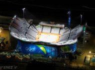 ورزشگاه های المپیکی ریو را ببینید +عکس