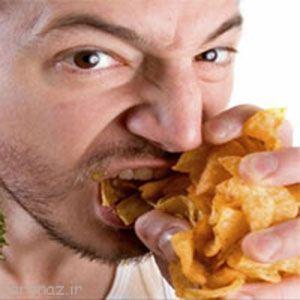 غذا خوردن استرسی را کنار بگذارید