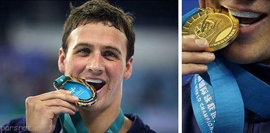 دلیل گاز گرفتن مدال توسط ورزشکاران چیست؟