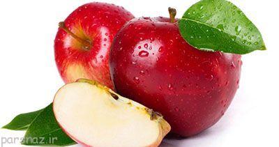 تاثیر خوردن سیب روی بدن انسان
