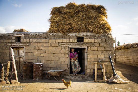 زنان روستای مشگین شهر در اردبیل