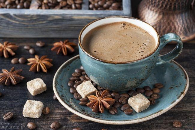 شکل یک فنجان قهوه در سراسر دنیا